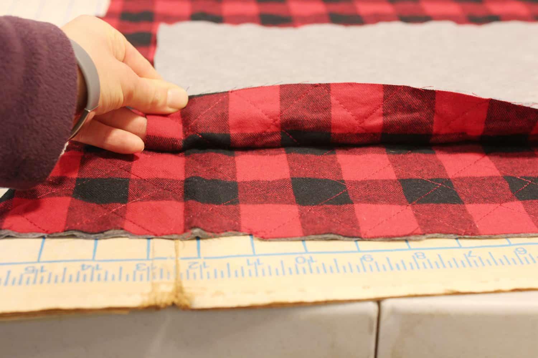 Plaid Stocking Pattern