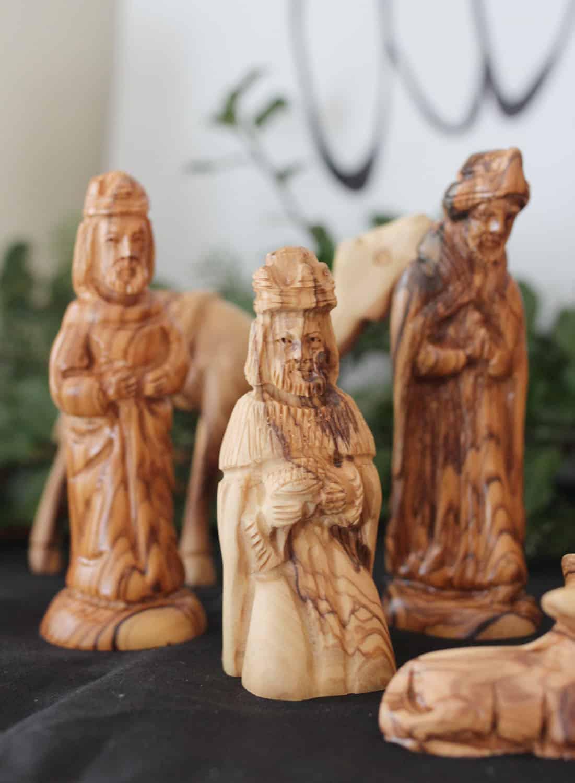 Olive Wood Wisemen