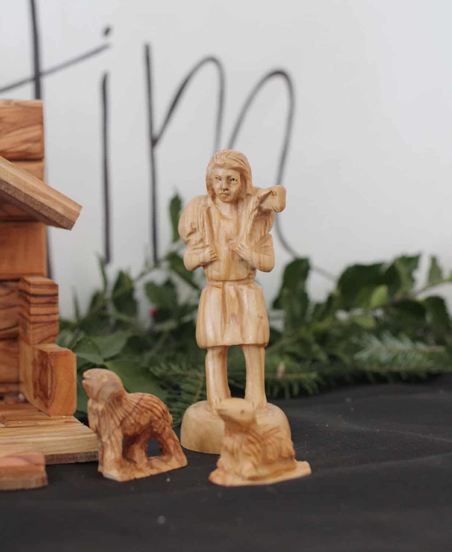Olive Wood Shepherd