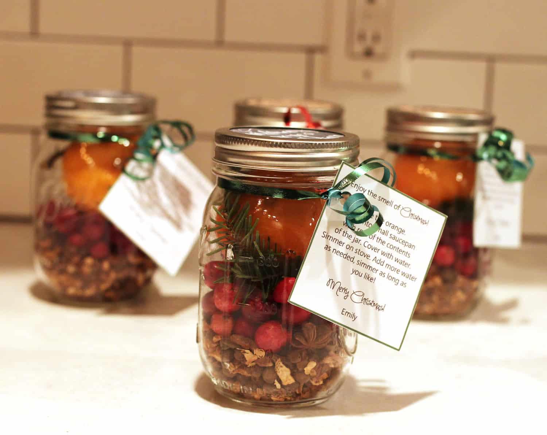 Christmas Potpourri Jar