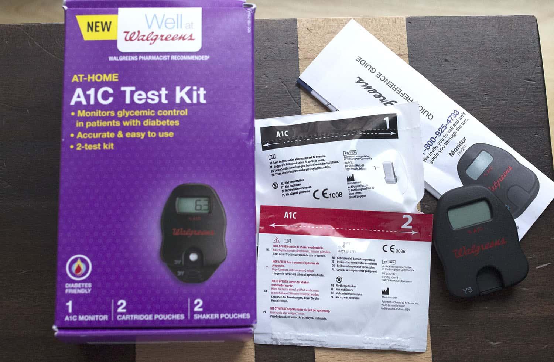 A1c home kit parts