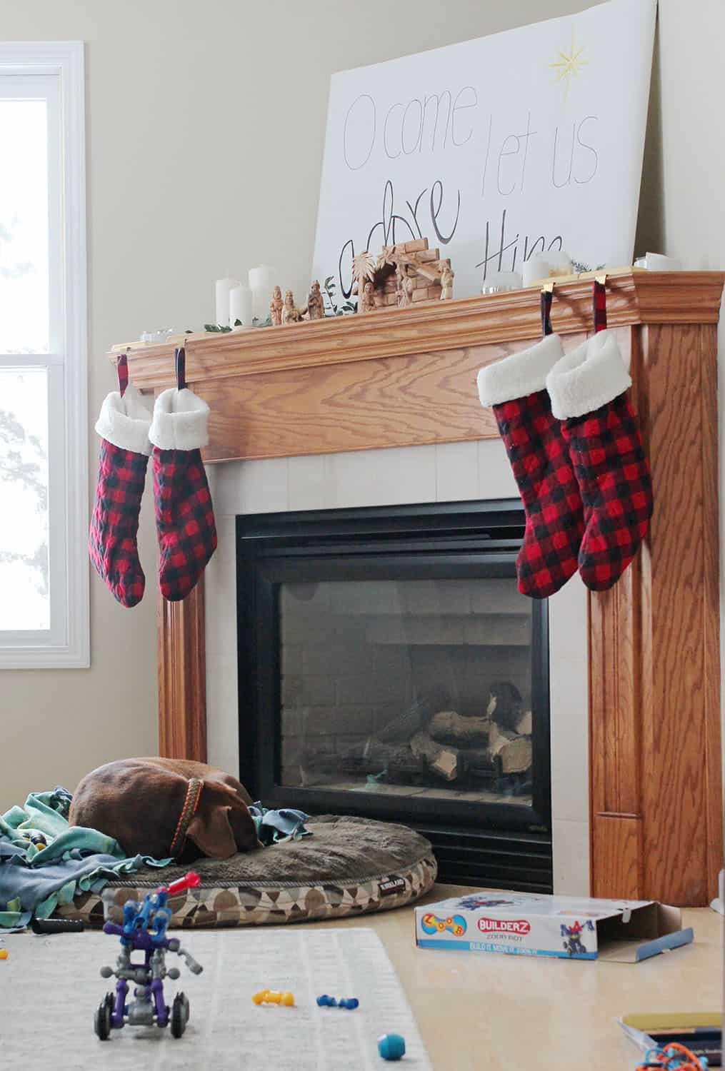 Fostering a Grateful Heart | Fireplace