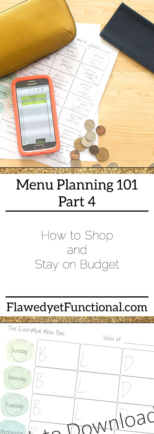 Menu Planning Stay on Budget