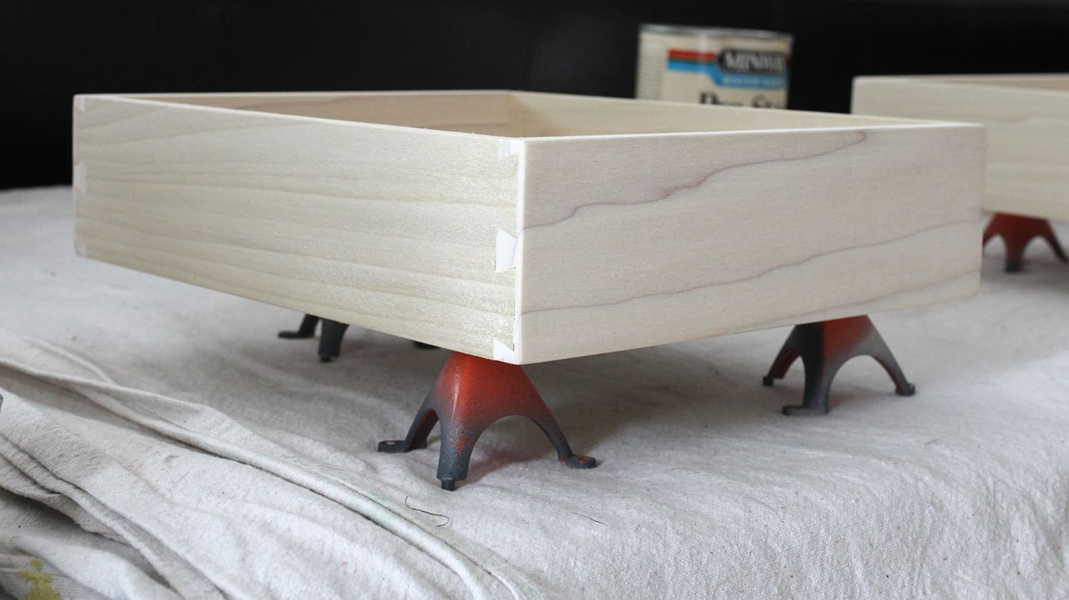 raw wood dovetail