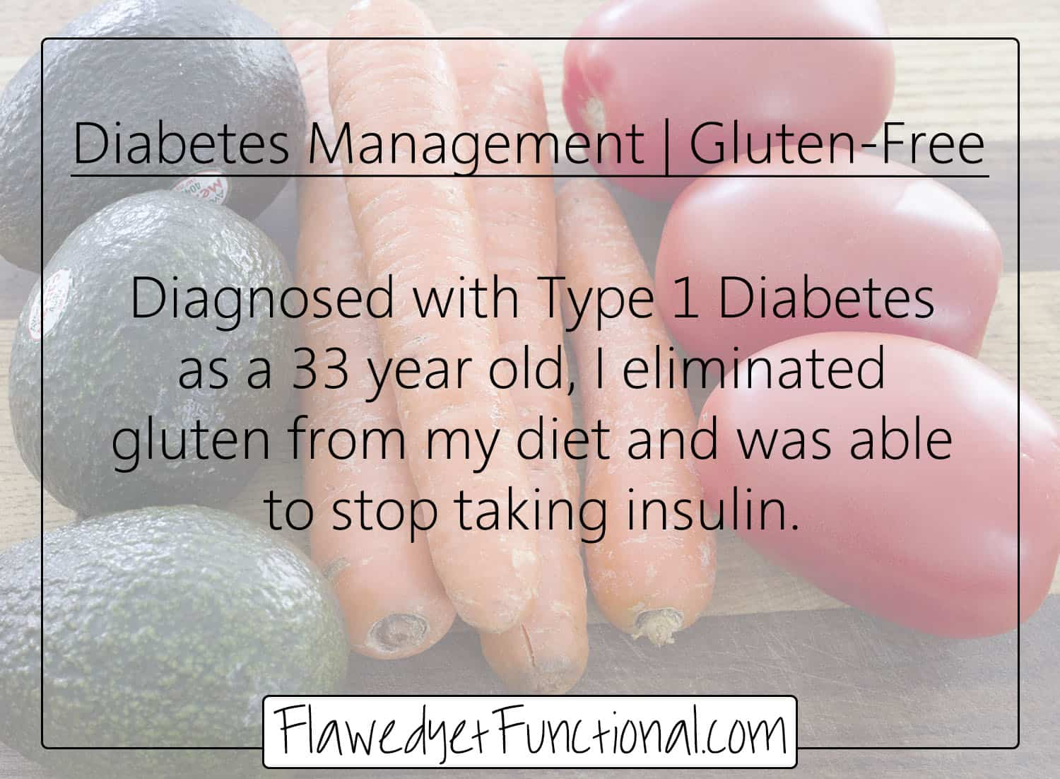 Insulin Free Type 1 Diabetes Management | Why I Became Gluten-Free