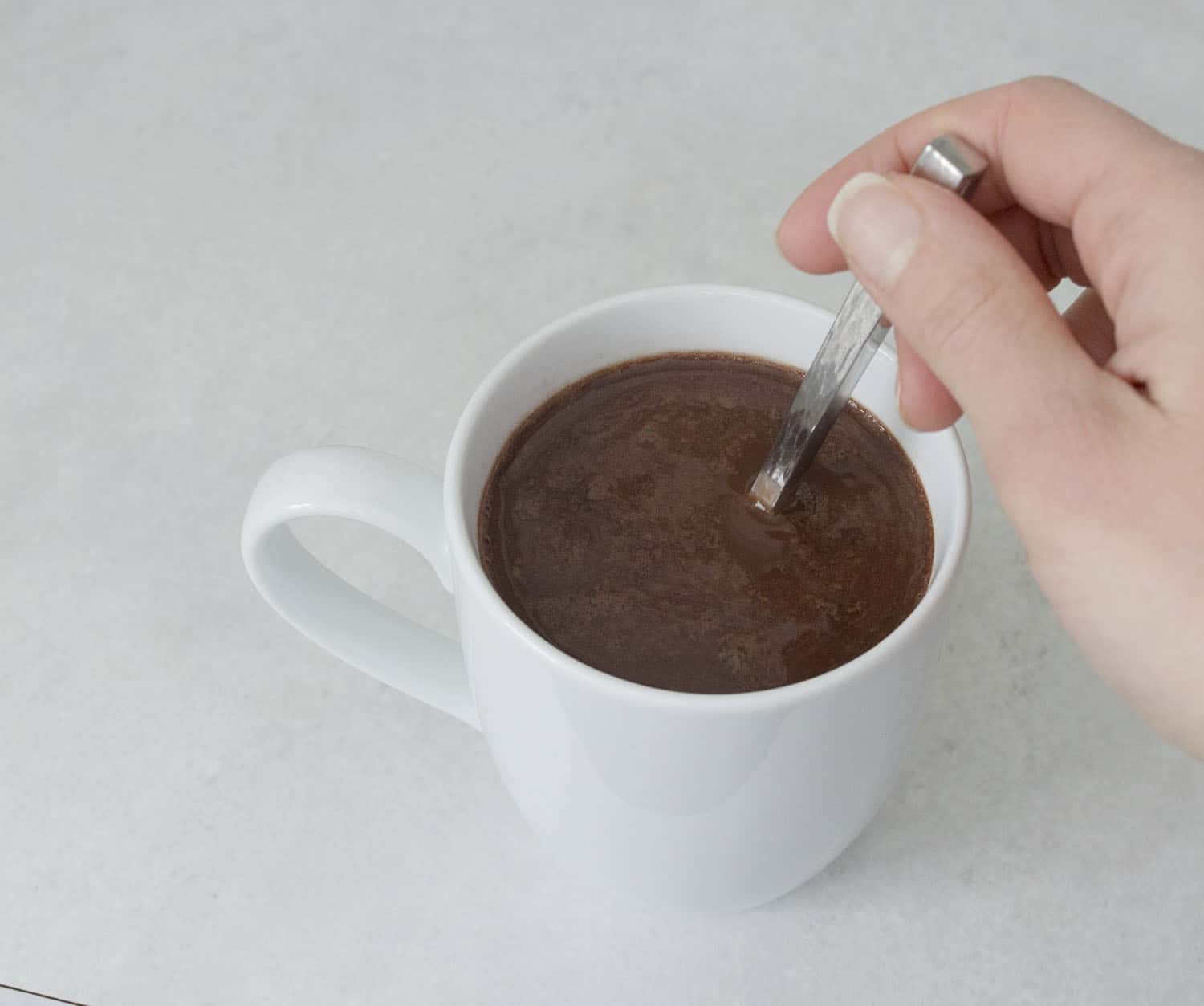 easy paleo hot chocolate