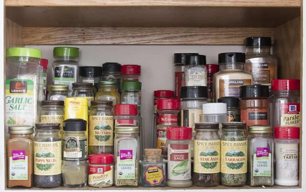 Organized Spice Rack