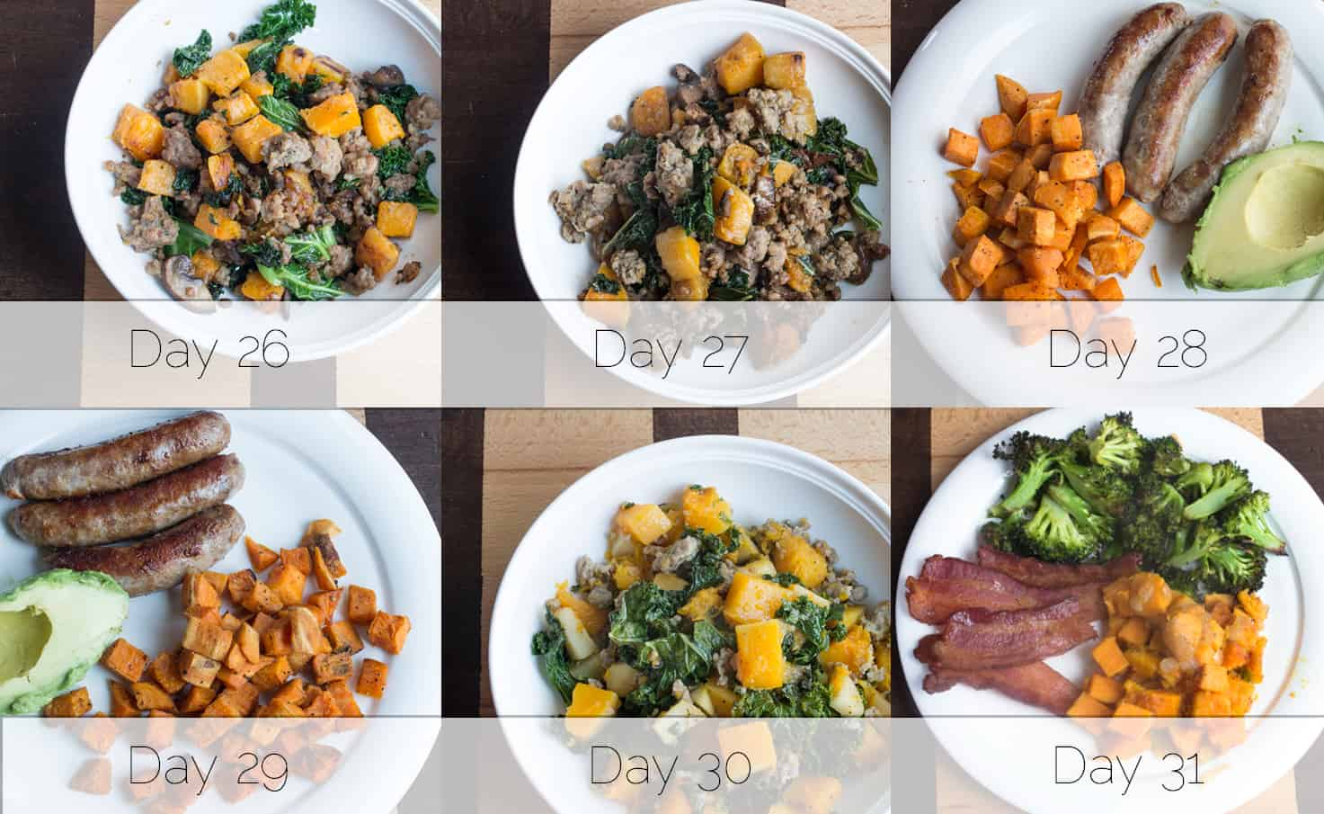 Autoimmune Protocol Breakfast Week 5
