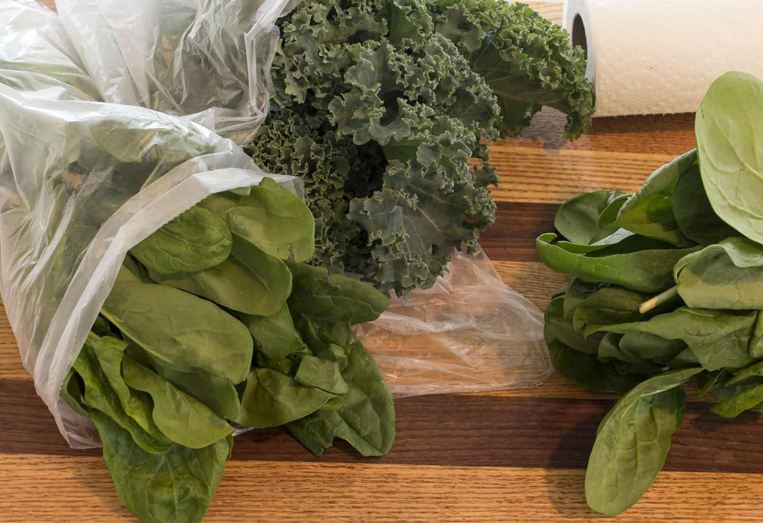 Fresh Greens from Store