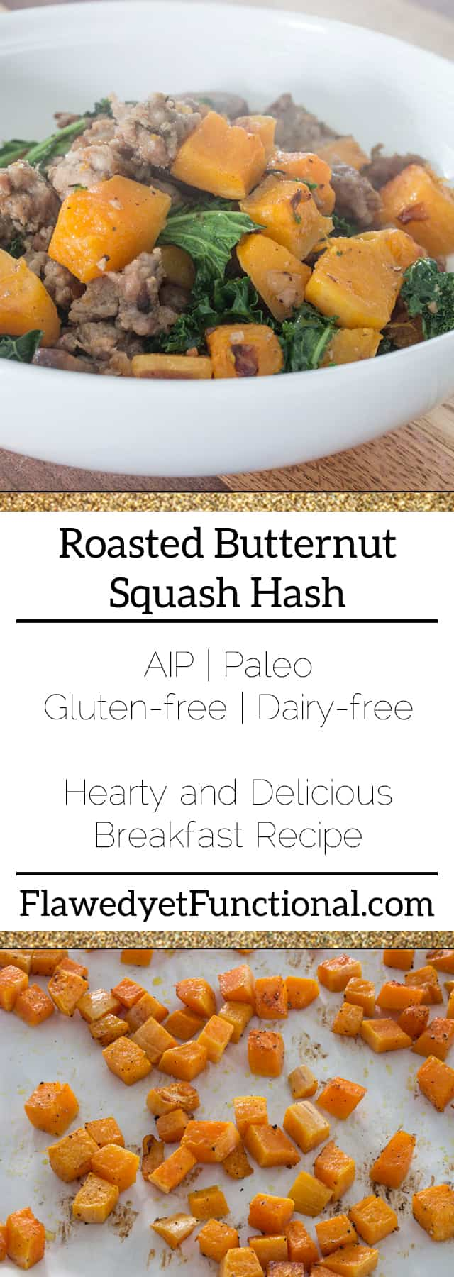 Roasted Butternut Squash Hash