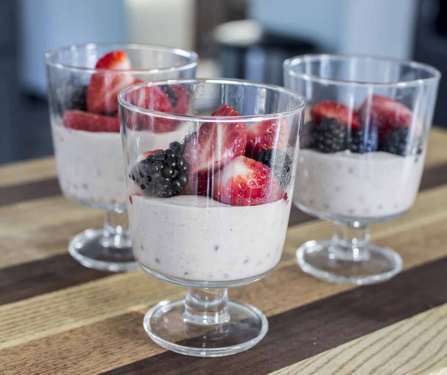 Tapioca with Berries