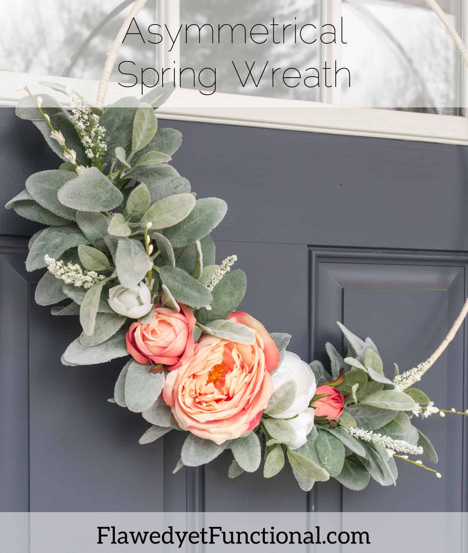 Asymmetrical Spring Wreath_2