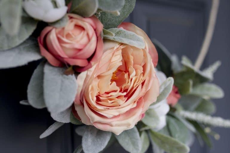 Rose Spring Wreath