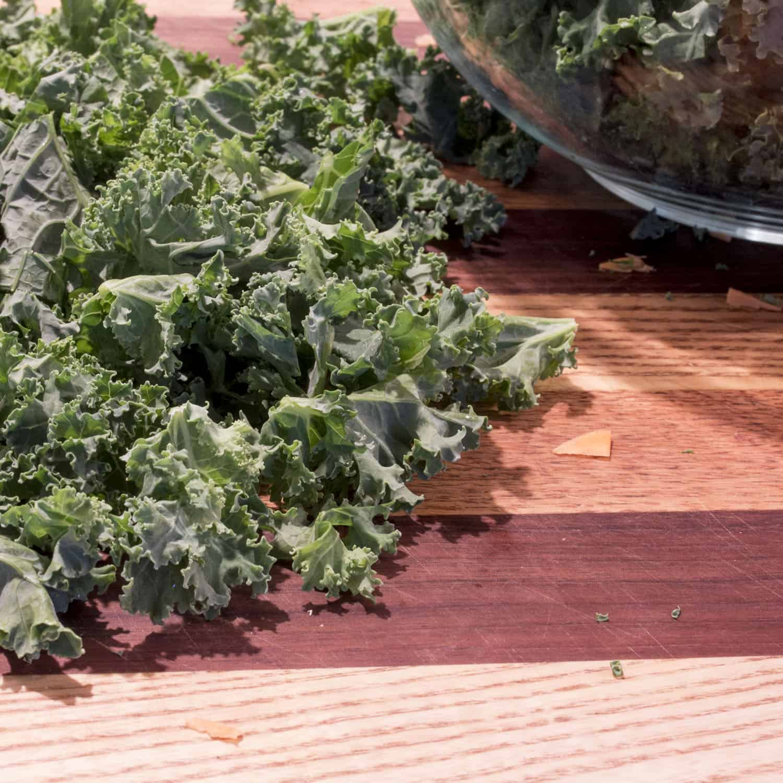 Roasted Sweet Potatoes & Kale Chips | AIP Paleo Breakfast Recipe