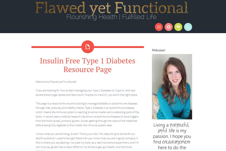 insulin free type 1 diabetes