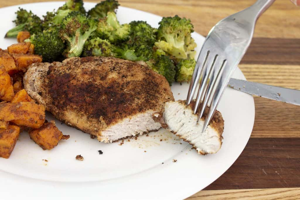 pan-fried sage pork chops