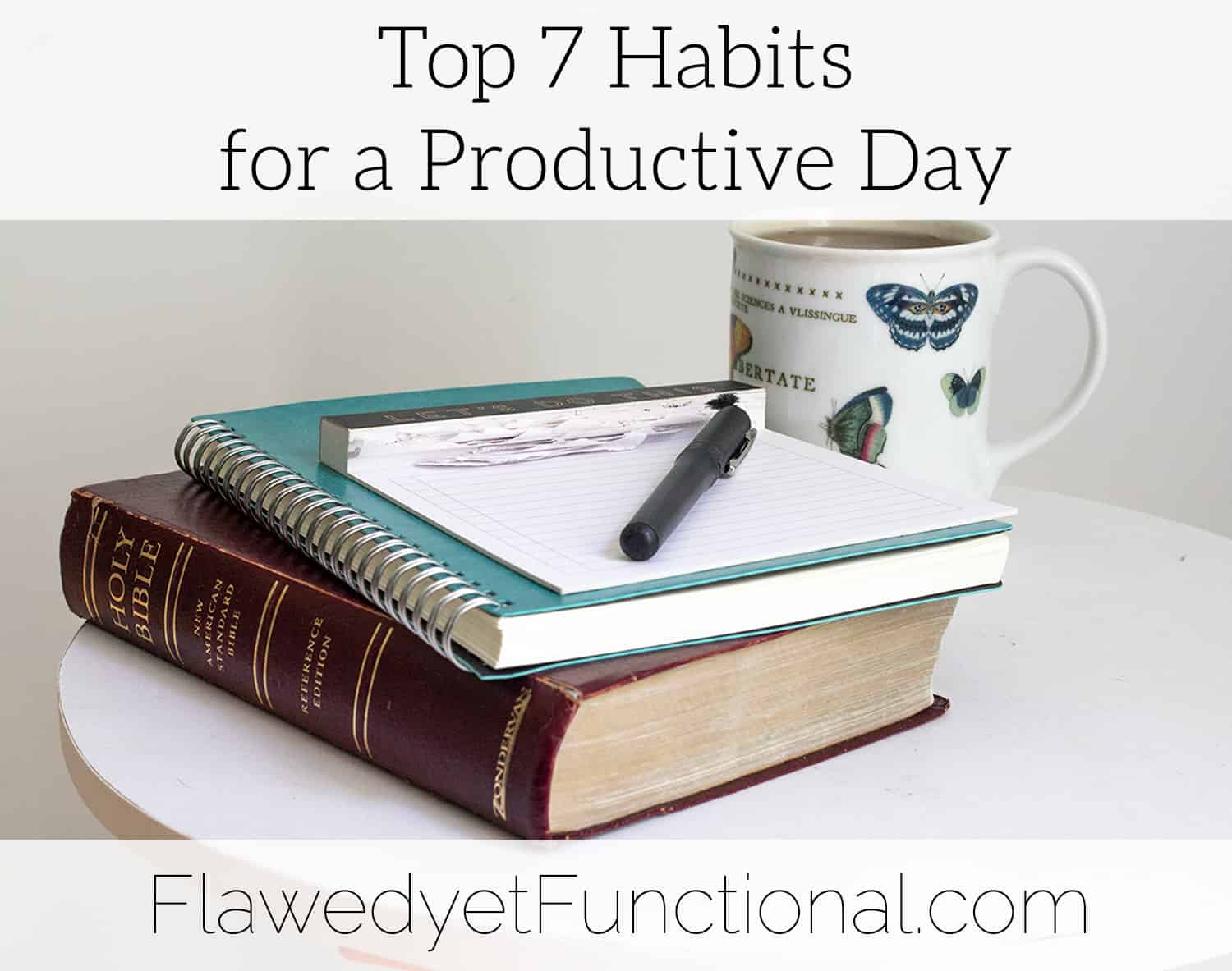 habits for a productive day