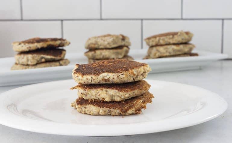 Paleo Vegan Almond Pancakes