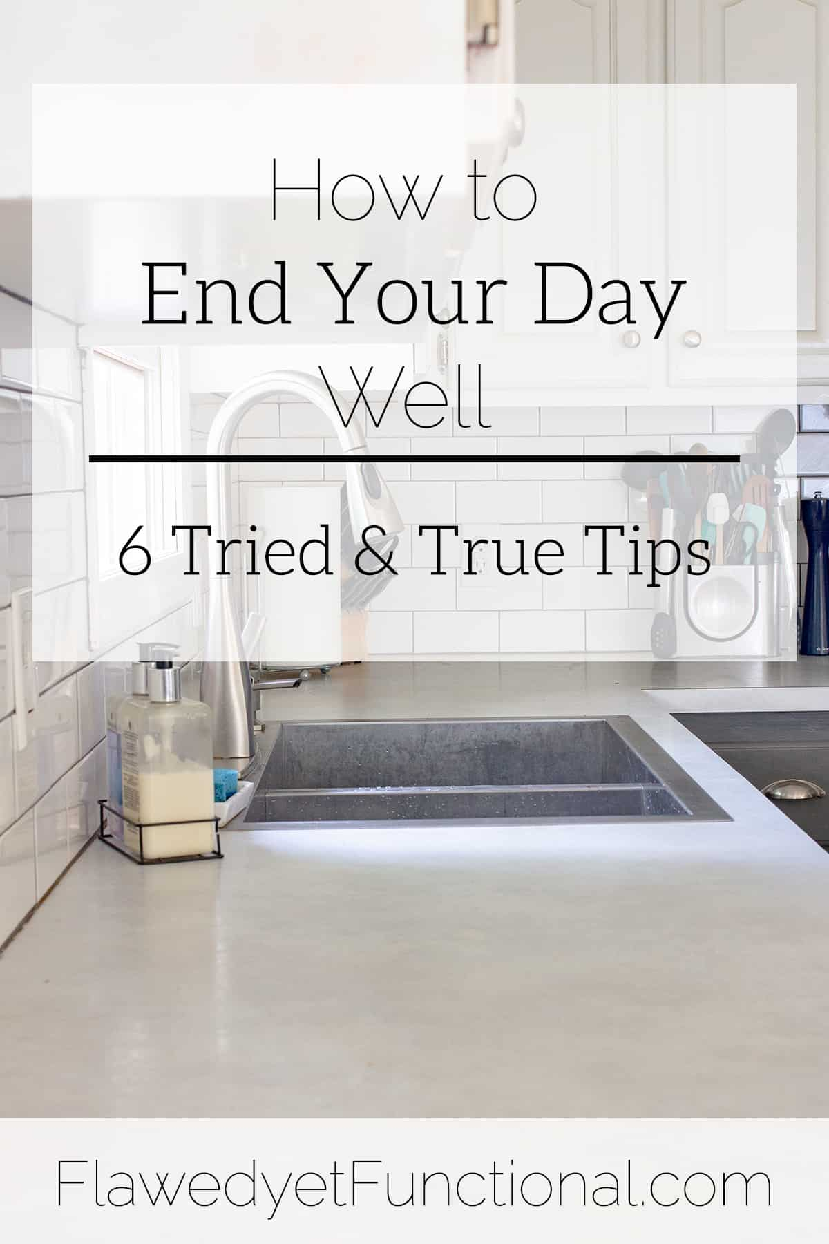 How to End Your Day Well | Healthy Habits
