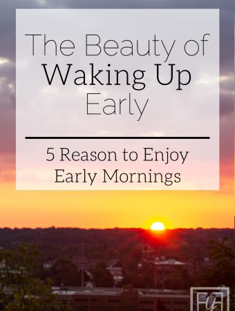 The Beauty of Waking Up Early | Healthy Habits