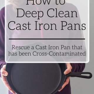 How to Deep Clean Cast Iron Pans